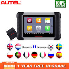 <b>2019 Newest Autel MaxiCOM</b> MK808BT OBD2 Scanner Car ...