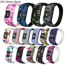 <b>Colorful</b> Wristband <b>Silicone</b> No Buckle <b>Watch</b> Band <b>Strap</b> ...