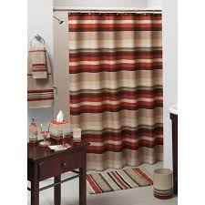 shower curtains matching accessories home design madison stripe shower curtain and bath accessories