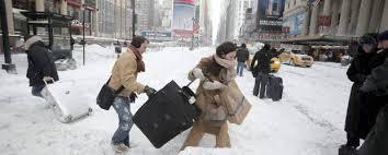 Miles sin electricidad por helada en Nueva York