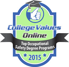 20 best values in occupational safety degree programs college click here for high resolution badge