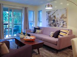 appealing staged living room dining