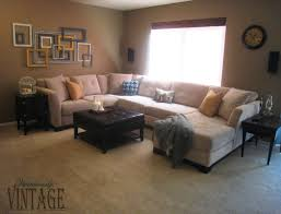 yellow teal living room