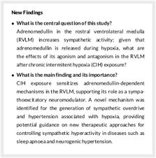 Centrally acting adrenomedullin in the long‐term potentiation of ...