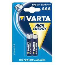 <b>Батарейки VARTA</b> High Energy Micro 1.5V-LR03/<b>AAA</b> (2шт) в ...