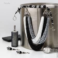 Бисерные <b>украшения</b>, Ожерелье с кисточкой, <b>Украшения</b> бохо