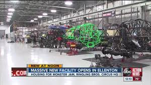 Circus Auto Parts Massive New Facility For Monster Jam Ringling Bros Circus Hq