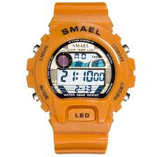 <b>SMAEL Digital</b> Wristwatches Luxury Brand Big <b>Men</b> Clock Cool ...