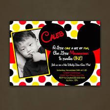 personalized mickey mouse birthday invitations net mickey mouse party invitations personalized disneyforever hd birthday invitations
