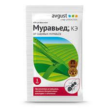 Средство от садовых <b>муравьев Муравьед</b> Avgust 1 мл купить ...