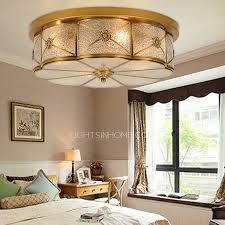 brass ceiling lights and glass shade semi flush living room ceiling lights living room