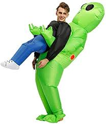 Poptrend Adults <b>Inflatable Halloween</b> Costumes Blow Up <b>Alien</b>