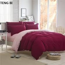 <b>Solid color patchwork</b> King/Queensize/ 3/4pcs bedding sets/bed set ...