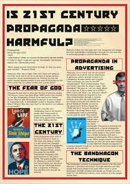 luke harrison i am luke harrison i study graphic design at the unit at university i was required to create an essay poster to accompany a 2500 word essay my essay was titled is 21st century propaganda harmful