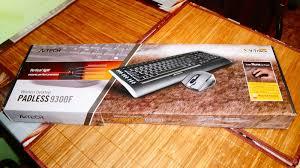 Обзор на Комплект клавиатура и мышь <b>A4tech</b> W <b>9300F</b> USB