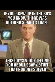 Future Twit: Unsolved Mysteries Meme - Scary Stuff via Relatably.com