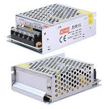 <b>AC</b> TO <b>DC 12V 5A</b> 60W Regulated <b>Switching</b> Power Supply Adapter ...