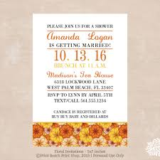 halloween and thanksgiving holiday invitations diy decorations printable fall floral invitations