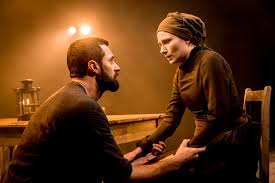the crucible old vic review thoughts petrified forest 07277 the old vic the crucible richard armitage john proctor and anna madeley elizabeth proctor