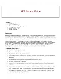 essay in apa format sample example cover letter gallery of sample of apa format essay