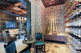 modern wine cellar 750 south ocean blvd inspiration for a mediterranean wine cellar remodel in awesome wine cellar