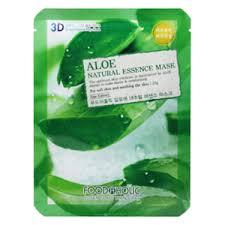 <b>Маска</b> для лица FoodaHolic Aloe Gram <b>Natural</b> Essence 3D Mask ...