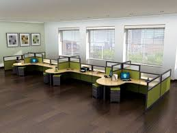 refurbished office cubicles this is a popular cubicle set up for companies wanting open best office cubicle design