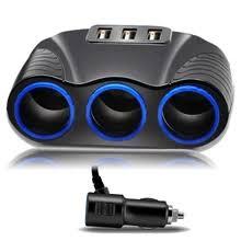 car lighter socket splitter usb — купите car lighter socket splitter usb ...