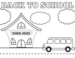 Small Picture Back To School Coloring Pages GetColoringPagescom