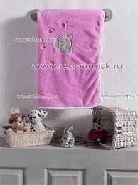 <b>Плед</b> велсофт <b>Cute Bear</b> Pink (<b>Kidboo</b>) / Постельное белье ...