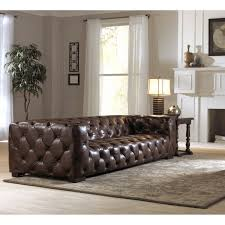 exceptional dark brown button tufted leather long chesterfield sofa for living room plan design with high captivating living room design tufted