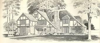 Vintage House Plans Tudor   Antique Alter EgoVintage House Plans Tudor