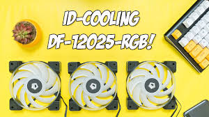 <b>ID</b>-<b>Cooling</b> DF-<b>12025</b>-<b>RGB Trio</b> Case Fans Review - YouTube