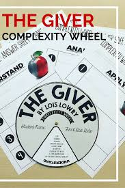 book bits a fun pre reading activity for the giver activities complexity wheel the giver