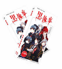 Online Shop <b>Anime Kuroshitsuji Black Butler</b> Poker Cards toy ...