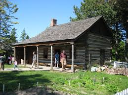 oak log cabins: file mccowan log cabin jpg wikimedia commons