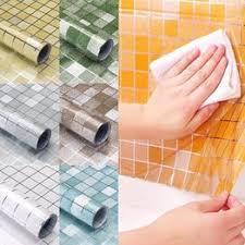 45x100Cm <b>Creative 3D</b> Bricks Wall Stickers Kitchen <b>Bathroom</b> ...