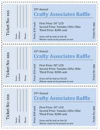 15 Free Raffle Ticket Templates in Microsoft Word - Mail Merge All Business Shades of Blue