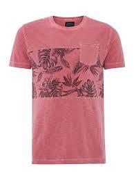Newport Floral Panel Tshirt