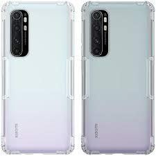 For Xiaomi Mi Note 10 Lite Case NILLKIN <b>Airbag Shockproof TPU</b> ...