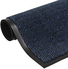 vidaXL <b>Dust Control Mat Rectangular</b> Tufted 40x60cm Blue ...