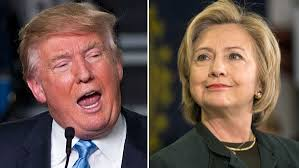 Image result for Hillary Clinton and Donald Trump pictures