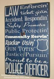 best ideas about police officer gifts service police sign leo sign police gift distressed wood sign thin blue line leo decor police decor leo proud to be a police officer