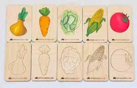 "Сортер <b>Wood Machine</b> ""Деревянные <b>карточки</b> Овощи"" — купить в ..."