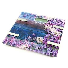 <b>MARTA MT</b>-1682 весенние цветы <b>весы напольные</b> сенсор