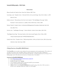 turabian style thesis annotated bibliography in turabian format