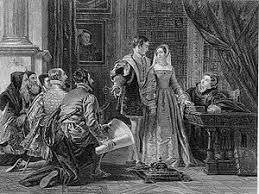 「1553年 - ノーサンバランド公ジョン・ダドリーがジェーン・グレイのイングランド女王即位を宣言。」の画像検索結果