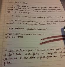 lamy al star inlove journals it is a beautiful writer very smooth and constant i inked it waterman s absolute brown which i got for christmas the notebook is my winnable