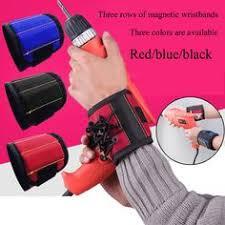 Strong <b>Magnetic Wristband</b> Portable Tool Bag Electrician Wrist Tool ...