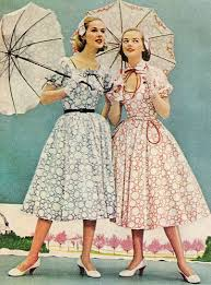 Resultat d'imatges de fashion in the 50's